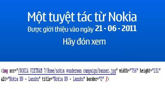 Nokia N9-Banner