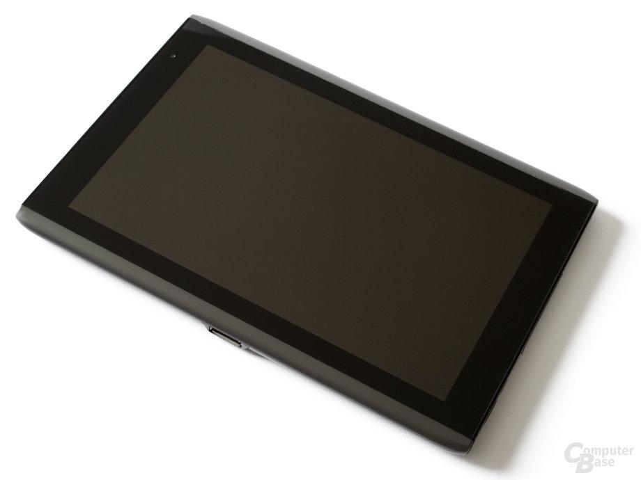 Acer Iconia Tab A500: Schlichte Vorderseite
