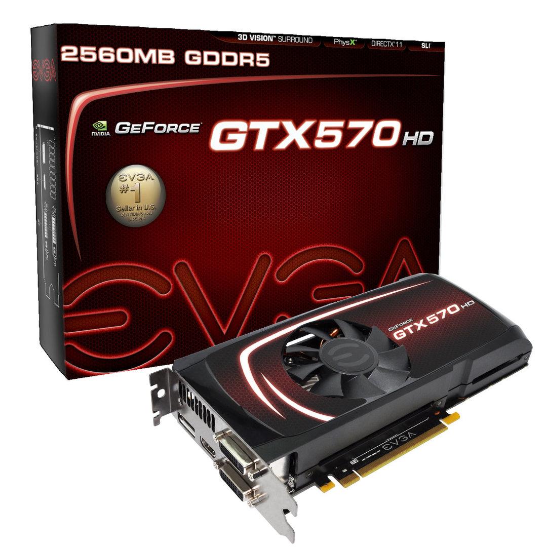 EVGA GeForce GTX 570 HD 2560MB