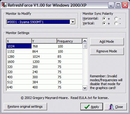 RefreshForce 1.00
