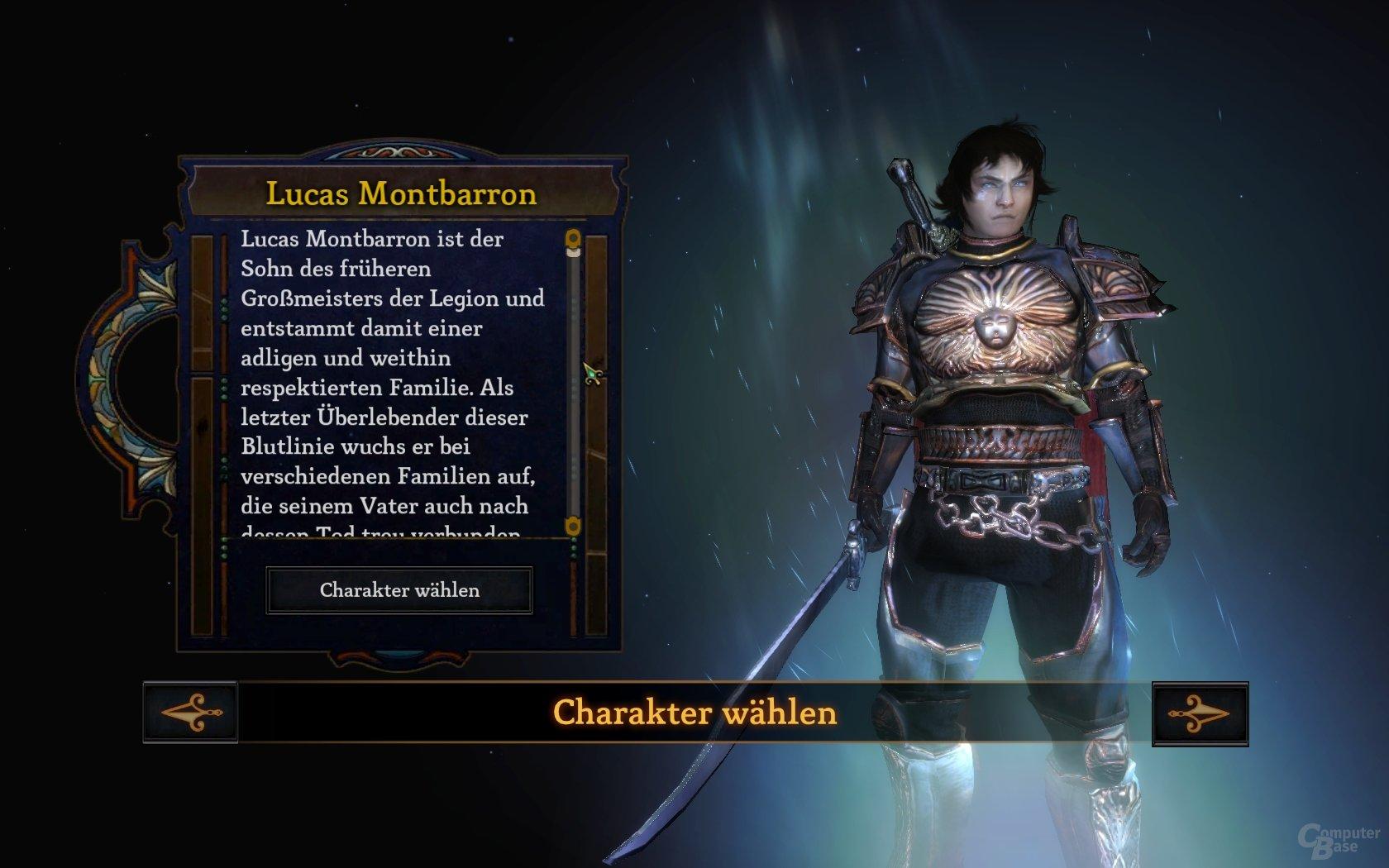 DS III - Charakterwahl