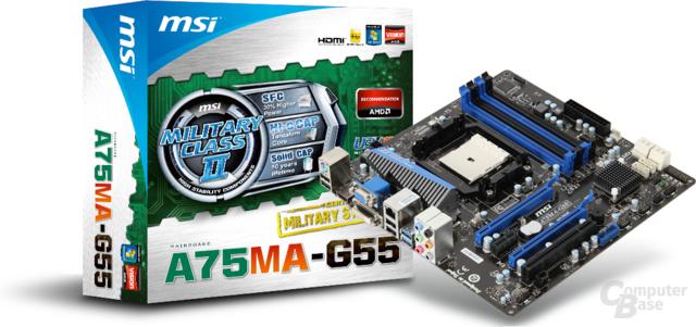 MSI A75MA-G55
