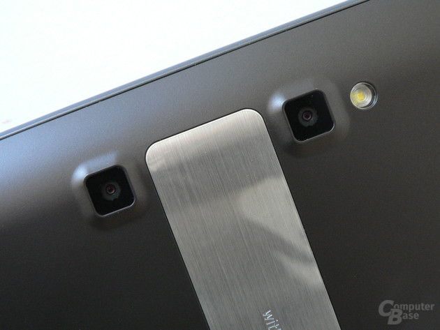 Dual-Kamera des Optimus Pad V900