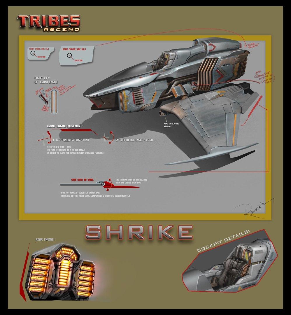 Shrike Layout