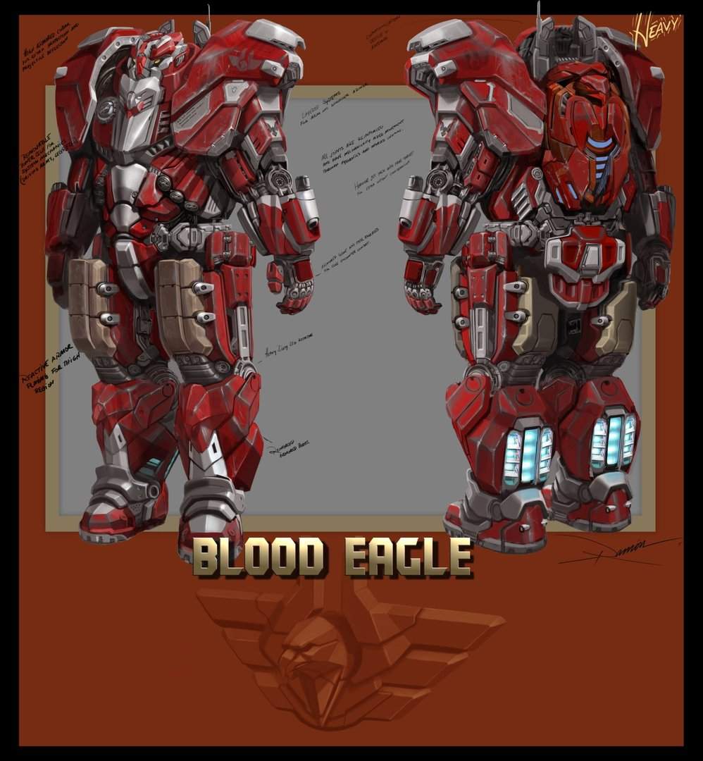 BloodEagle Heavy