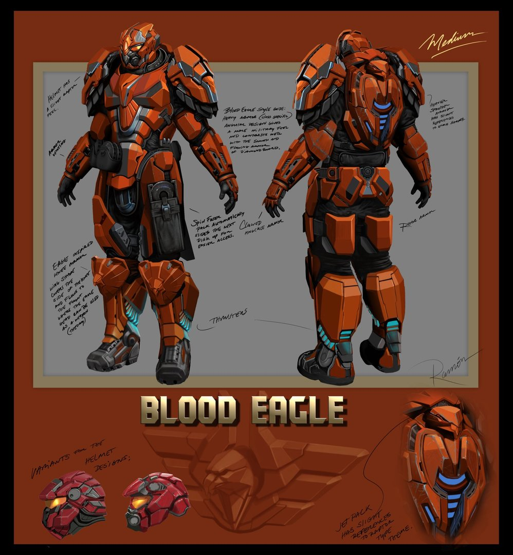 BloodEagle Medium