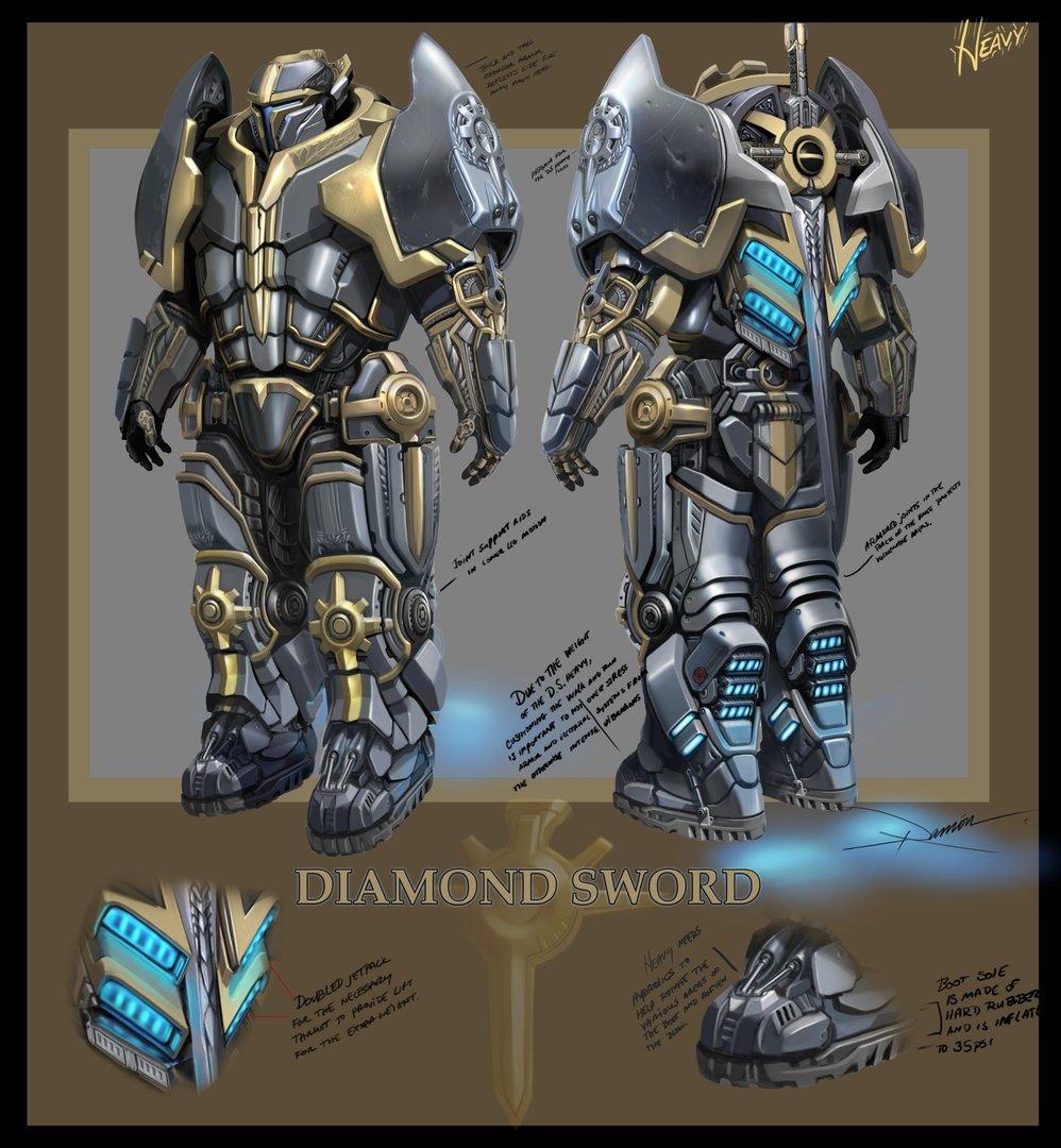 DiamondSword Heavy
