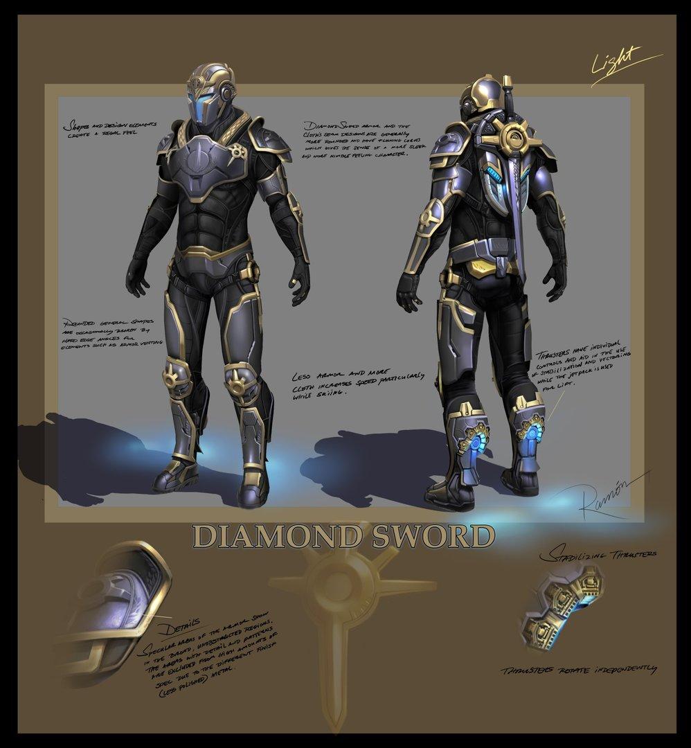 DiamondSword Light