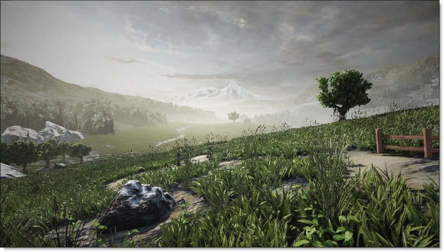 Neues System der Unreal Engine 3 zur Blatter-Darstellung