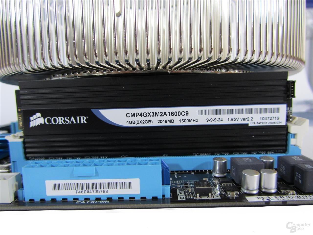 Nofan CR100A – Inkompatibilität mit großen Heatspreadern