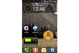 Screenshot Samsung Galaxy Ace