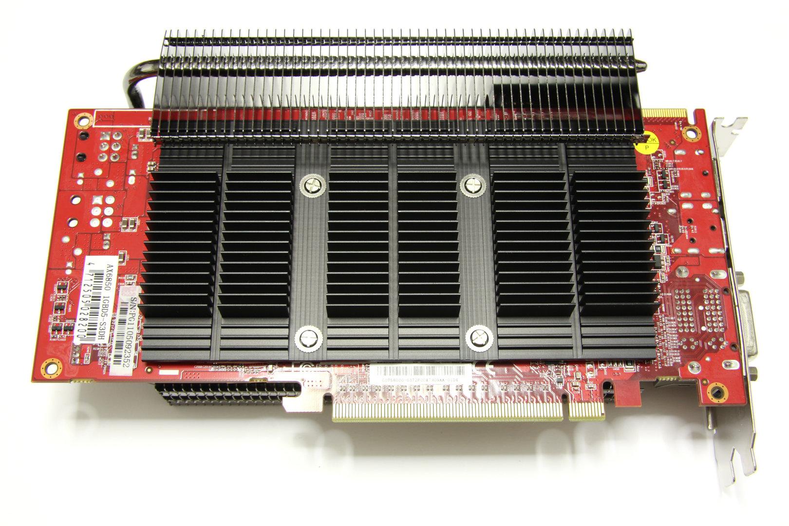 Radeon HD 6850 SCS3 Rückseite