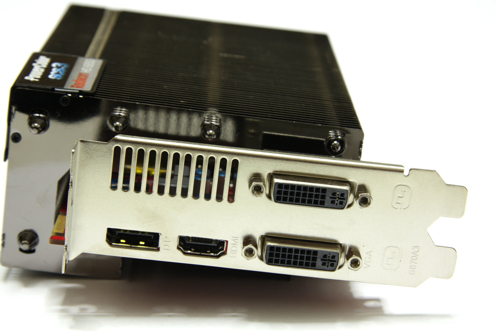 Radeon HD 6850 SCS3 Slotblech