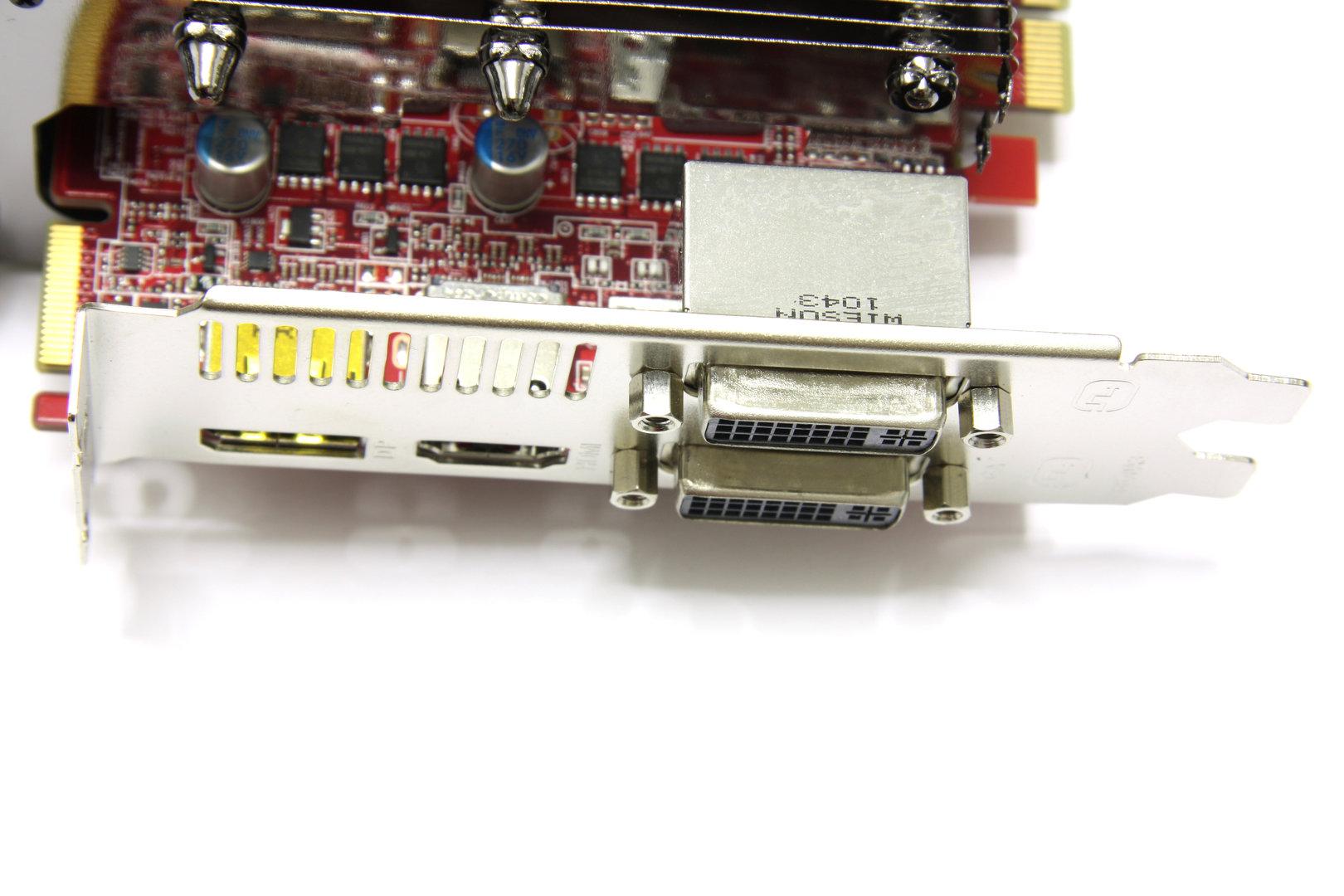 Radeon HD 6850 SCS3 Anschlüsse