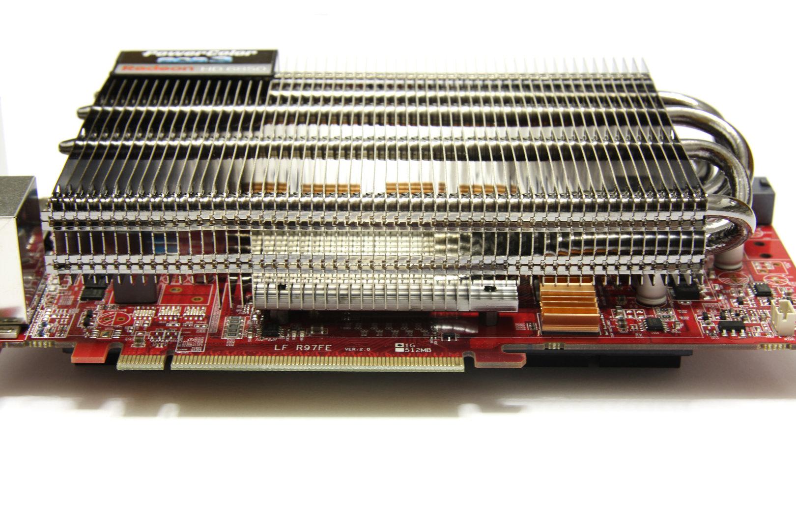 Radeon HD 6850 SCS3 Kühler Seite