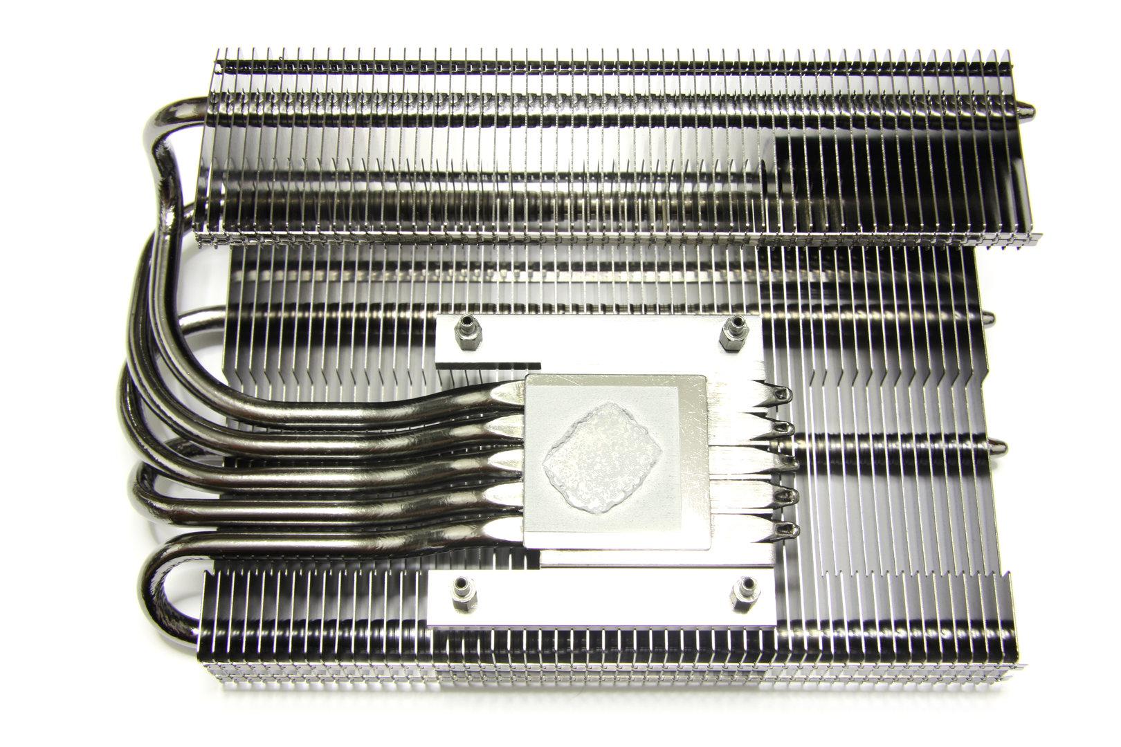Radeon HD 6850 SCS3 Kühlerrückseite