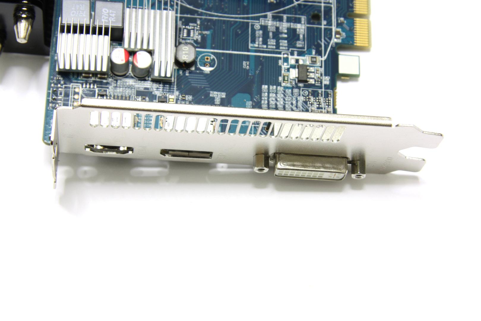 Radeon HD 6670 Ultimate Anschlüsse