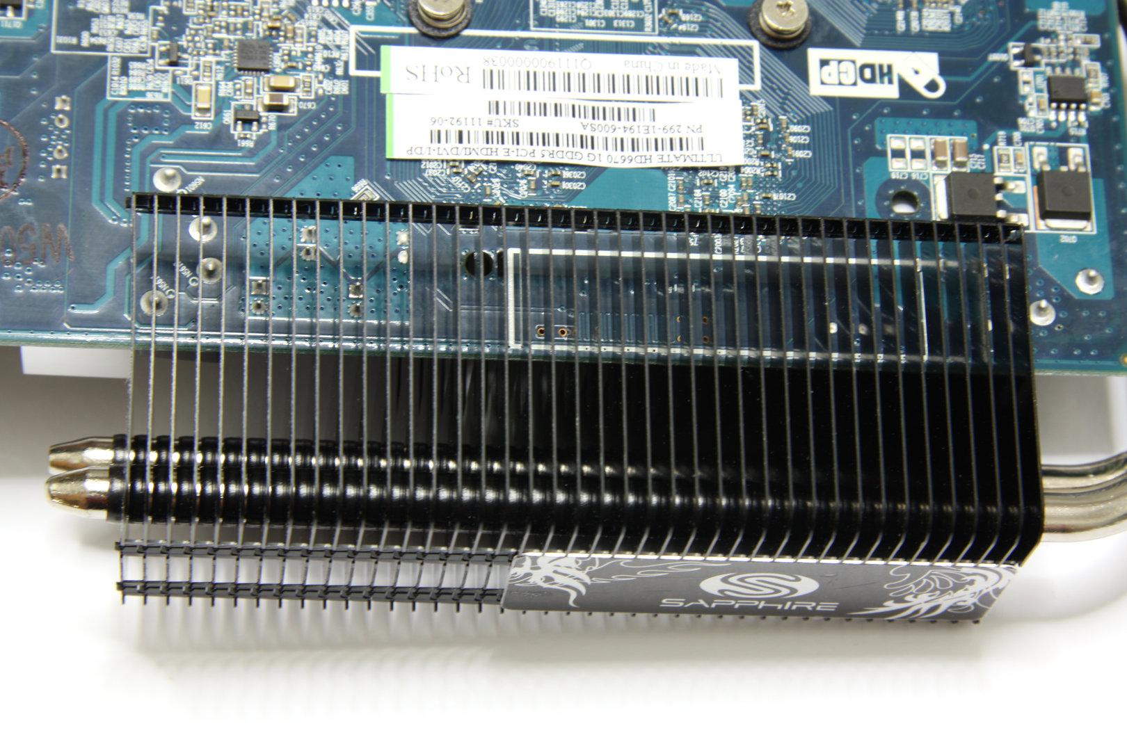 Radeon HD 6670 Ultimate Lamellen