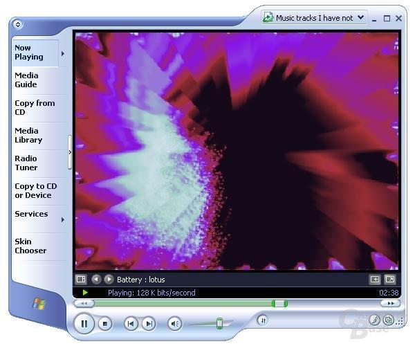 Media Player 9 mit verbessertem Layout
