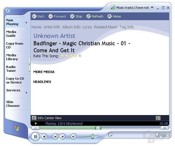 Meida Player 9 lieferwert erweitere Informationen
