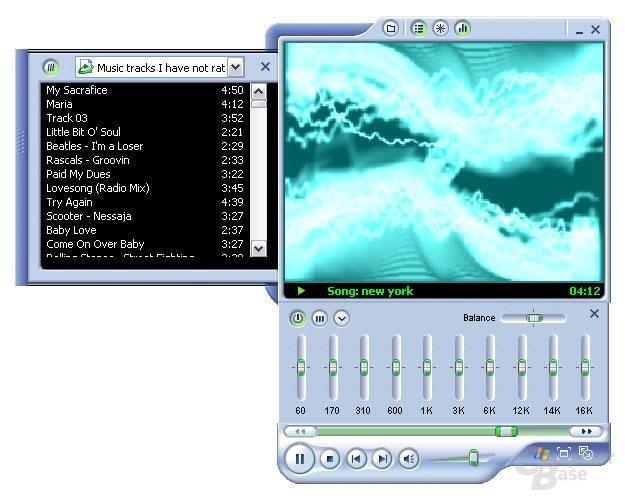 Media Player 9 im erweiterten minimierten Modus