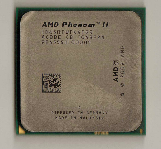 AMD Phenom II X4 650T