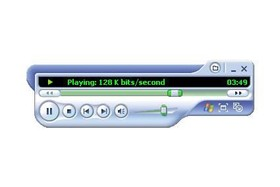 Media Player 9 im Kleinst-Modus