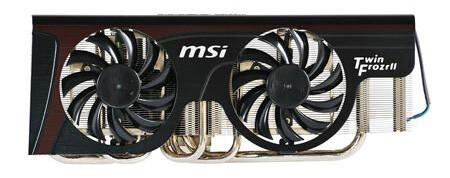 Twin-Frozr-II-Kühler von MSI