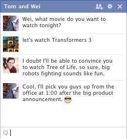 Facebook: Gruppen-Chat-Funktion