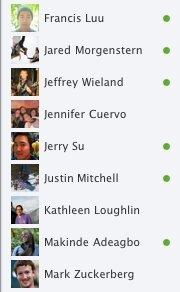 Facebook: Neue Kontaktleiste