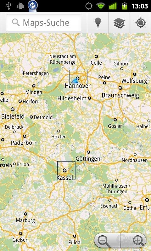 Google Maps für Android 5.7