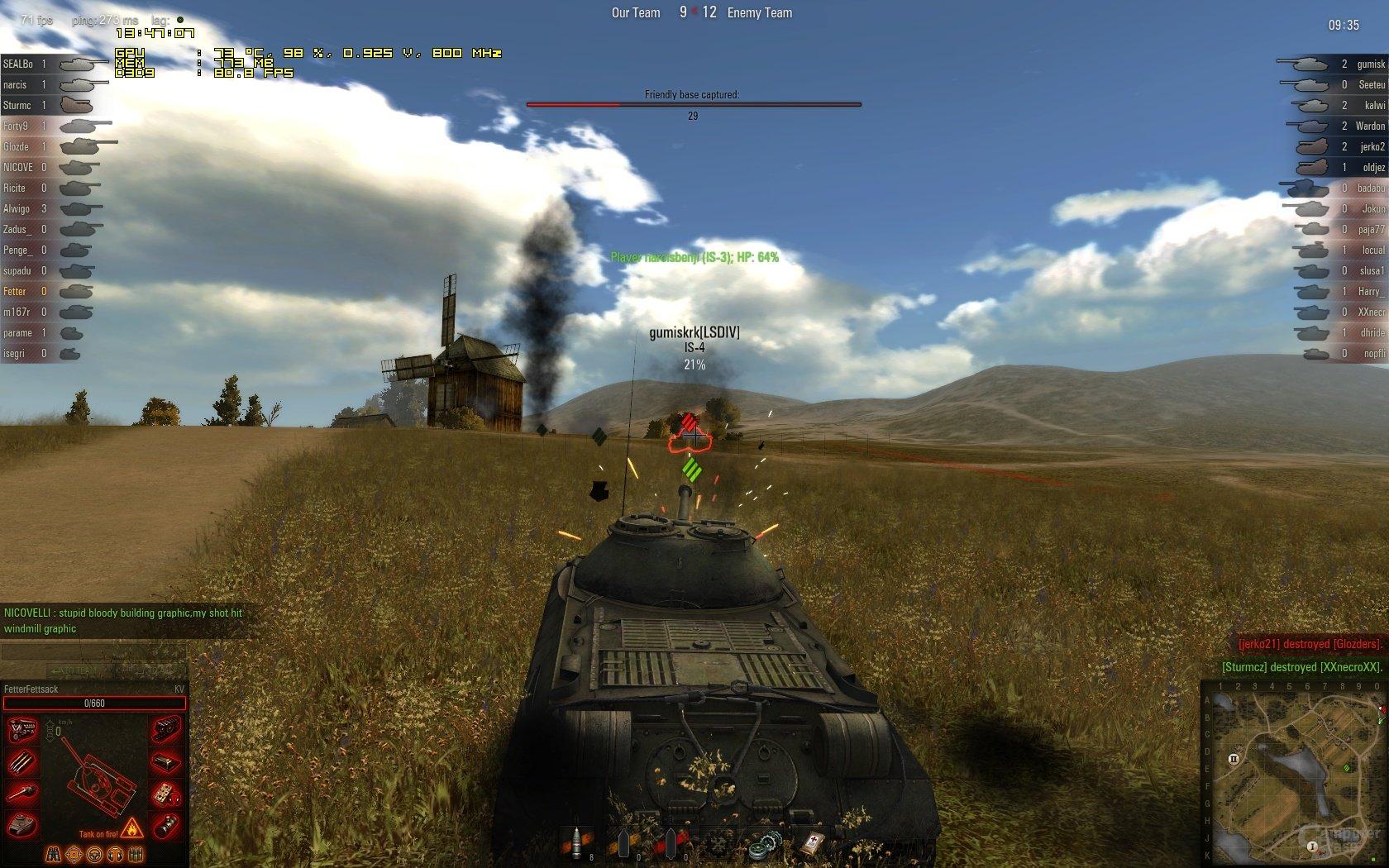 Welt der Panzer Matchmaking-Geschicklichkeit