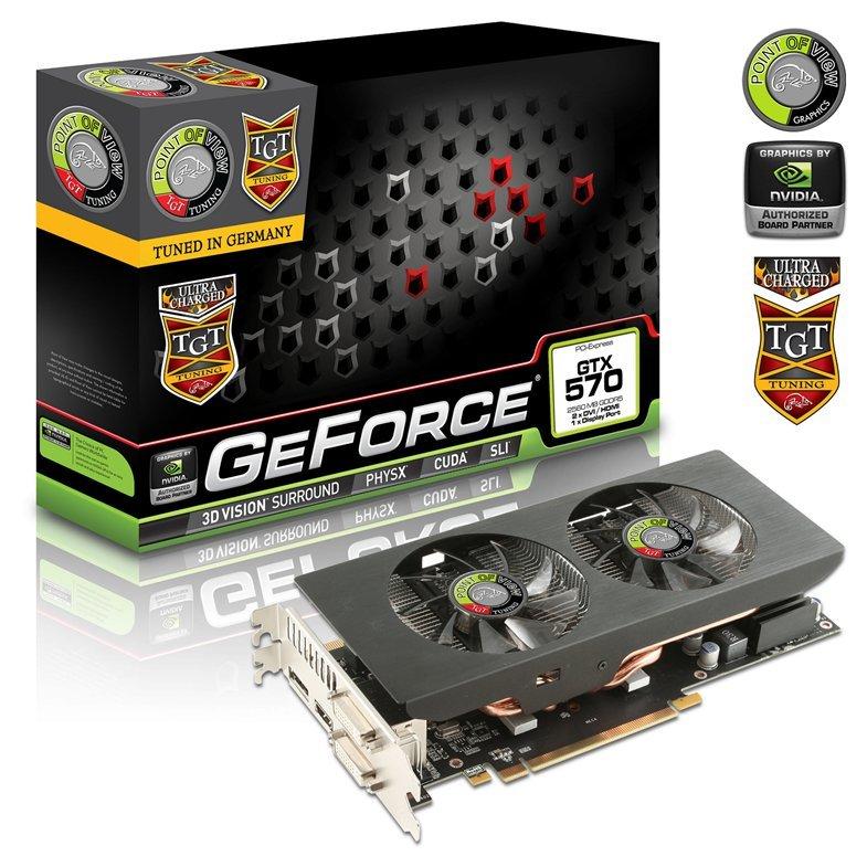 POV/TGT GeForce GTX 570 2.5GB UltraCharged