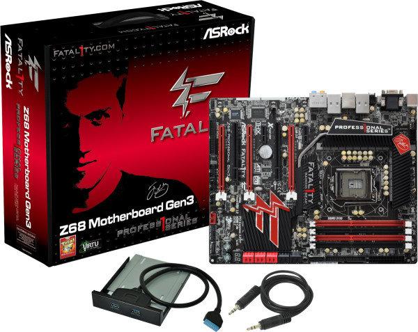 ASRock Fatal1ty Z68 Professional Gen3