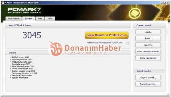 Bulldozer-Sample: PCMark 7