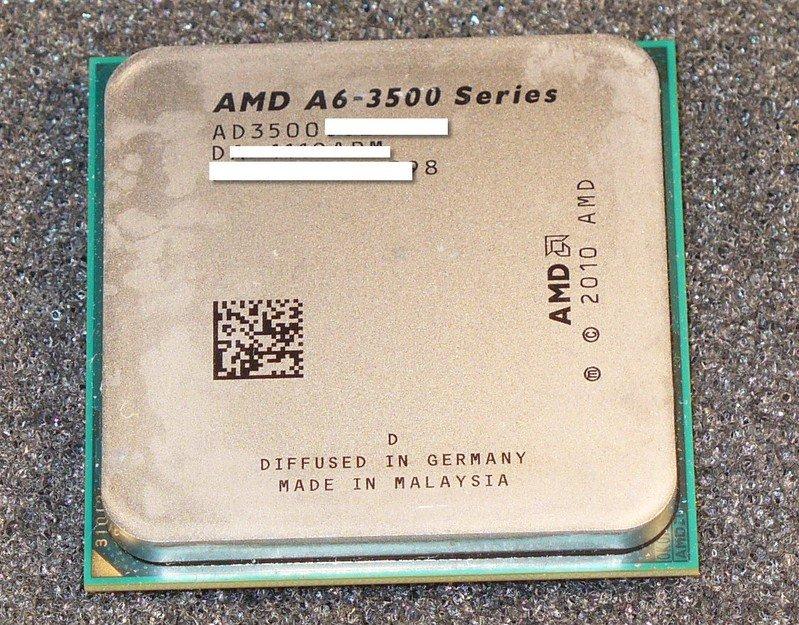 AMD A6-3500 im Umlauf
