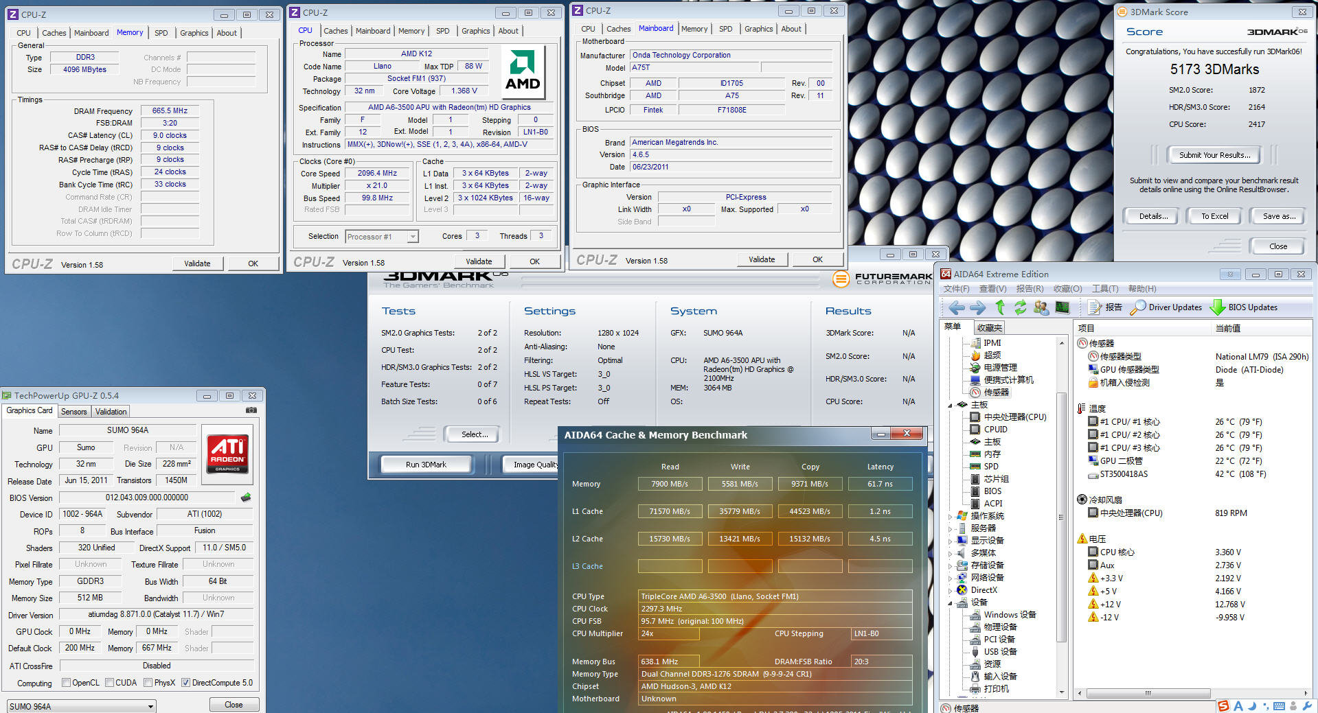 AMD A6-3500 getestet