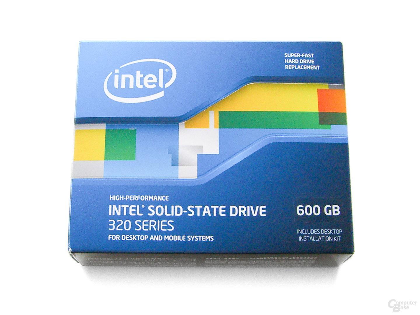 SSD 320 Verpackung