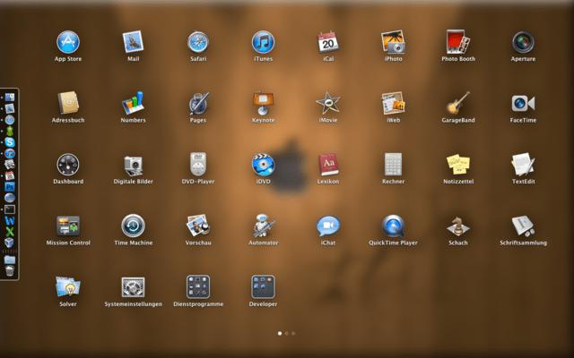 Mac OS X Lion – Launchpad