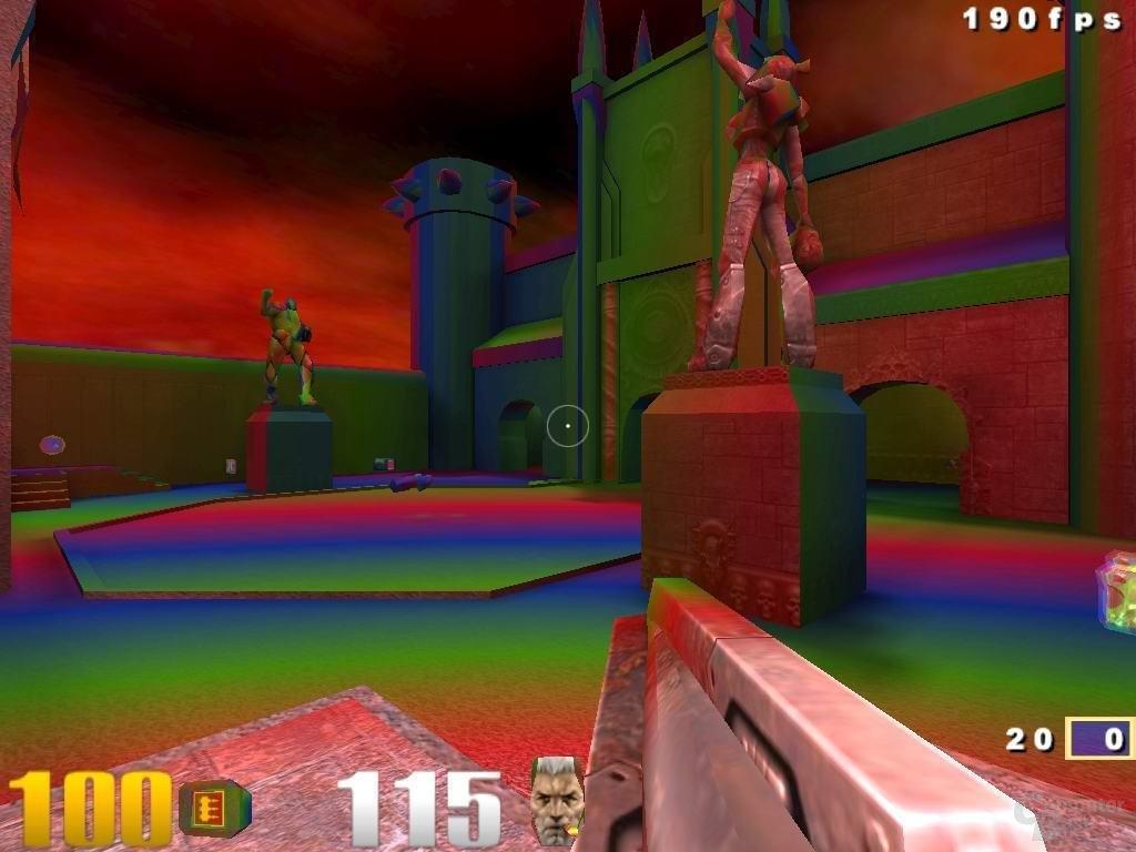 Quake III Arena: nVidia-Style