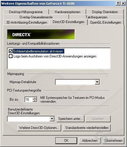 Direct3D-Tab