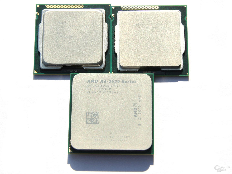 AMD mit Intel