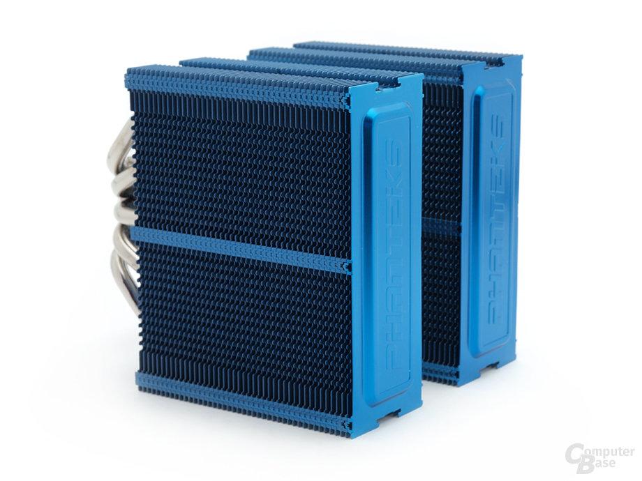 Blauer Kühlkörper