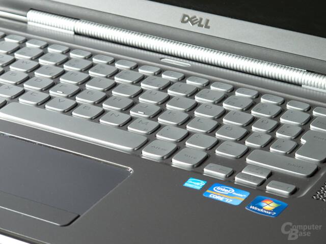 "Dell XPS 15z: ""Schwammige"" Tastatur"