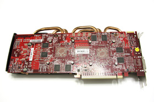 Radeon HD 6870 X2 Rückseite