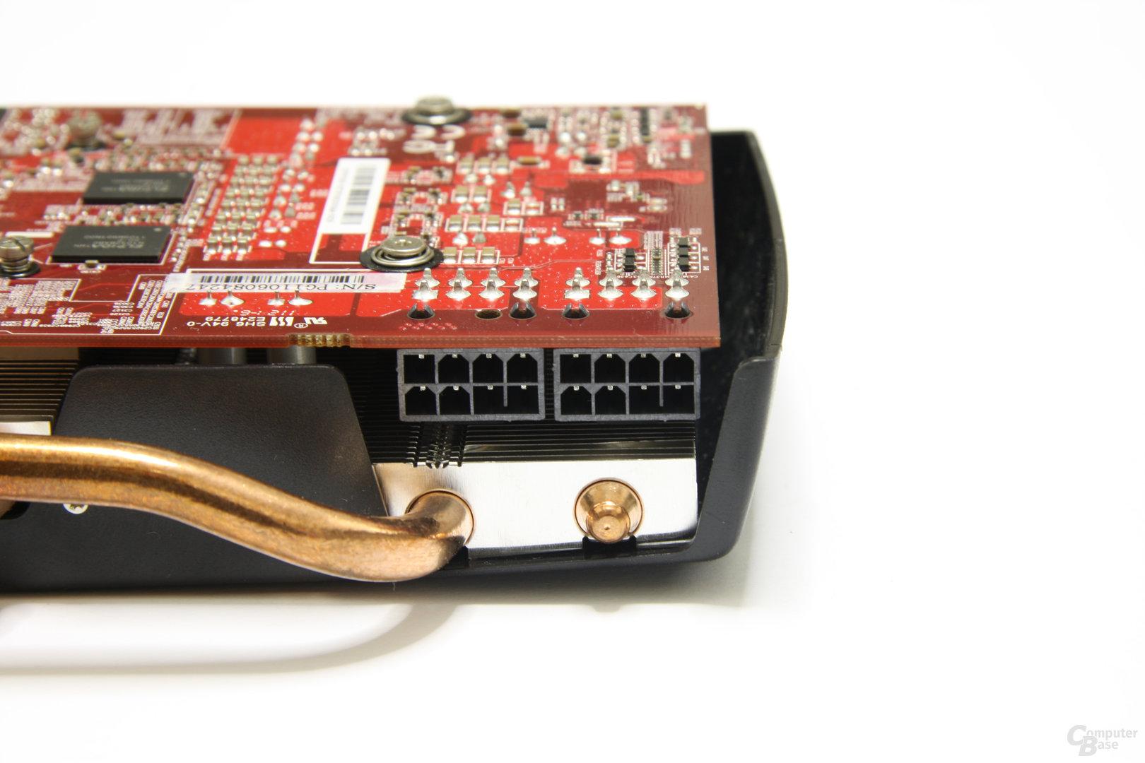 Radeon HD 6870 X2 Stromanschlüsse