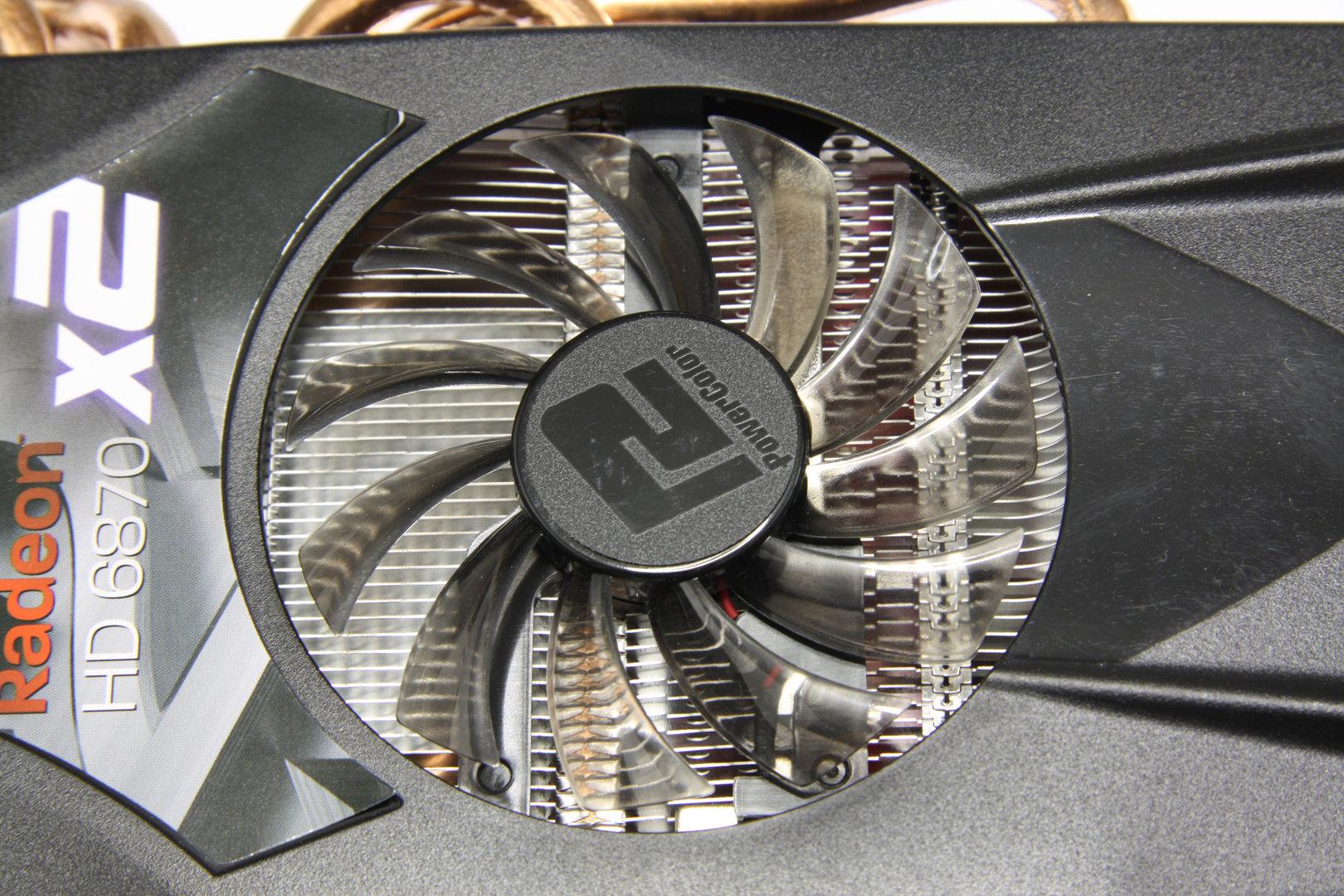 Radeon HD 6870 X2 kleiner Lüfter