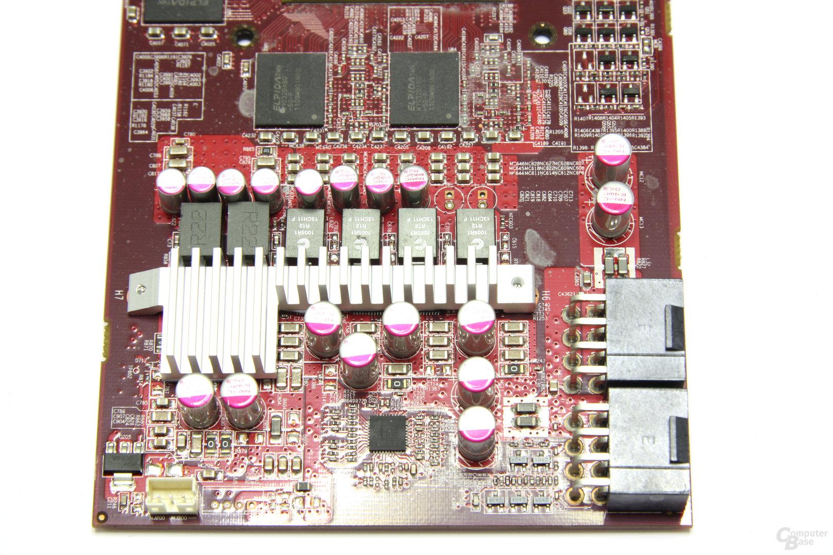 Radeon HD 6870 X2 Bauteile 2