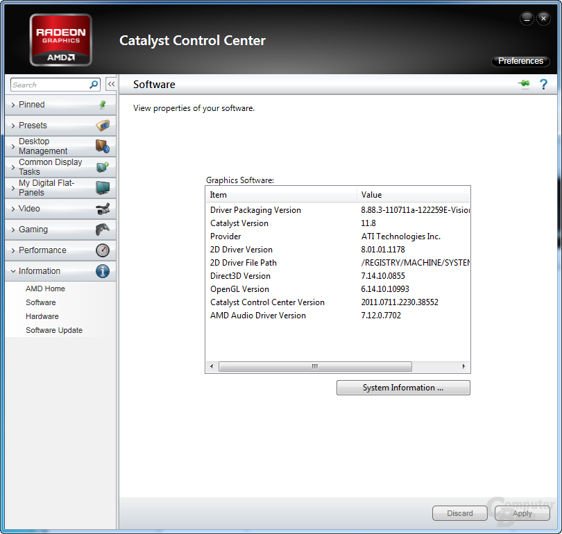 AMD Catalyst 11.8 Preview
