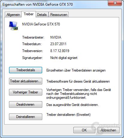 Nvidia GeForce 280.19